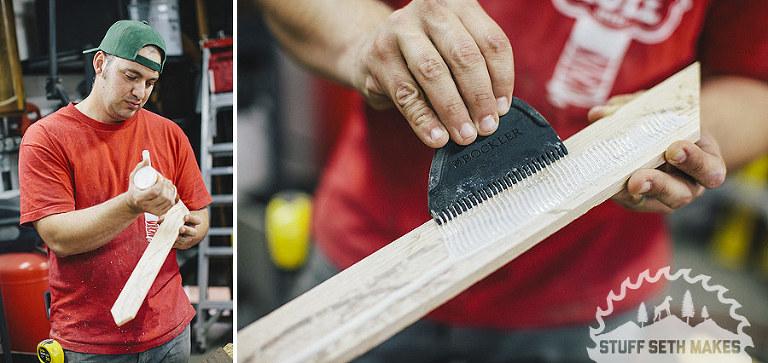 wood-glue-up-woodworking