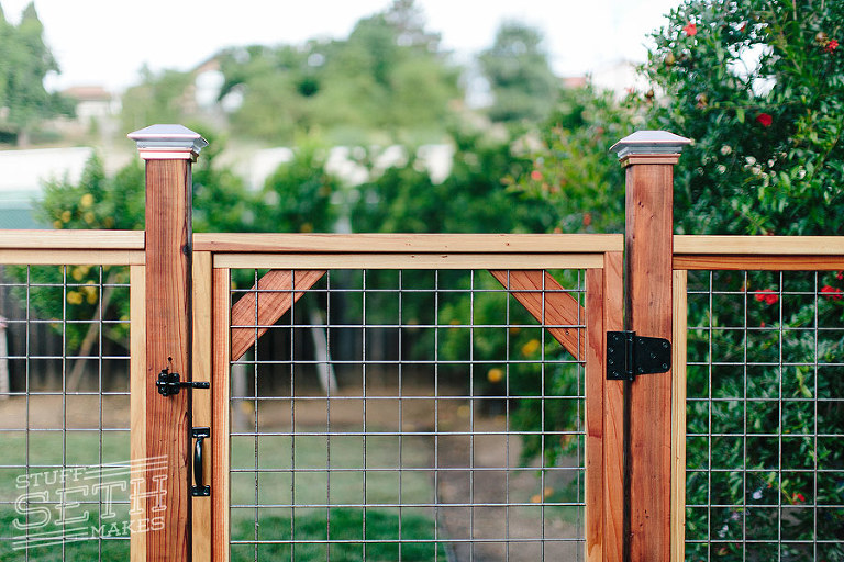 Welded Wire Fence Gate