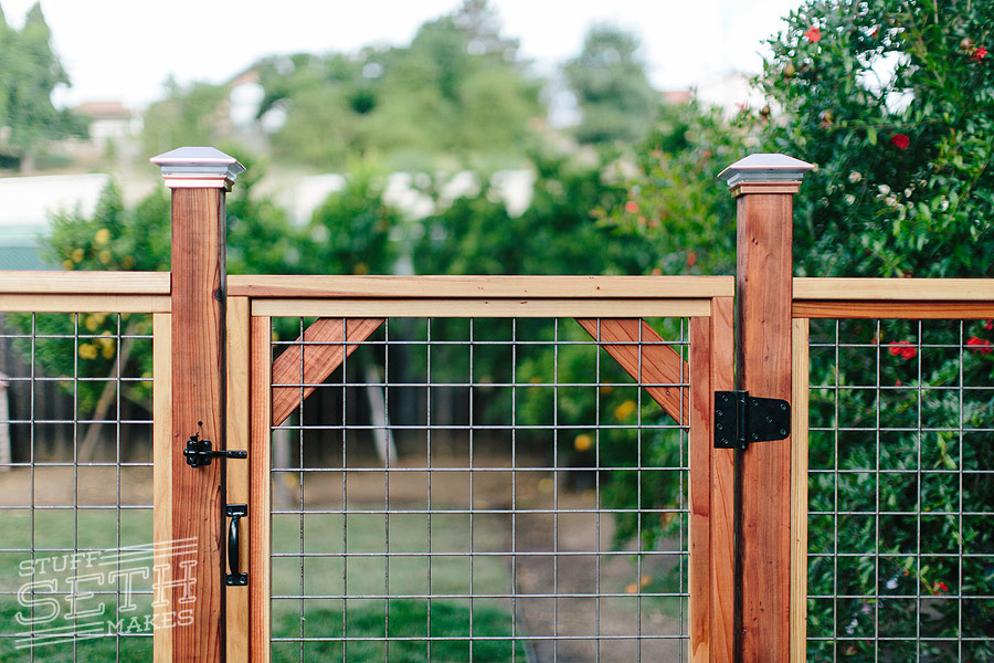 Wood Fence Gate Diy How To Build