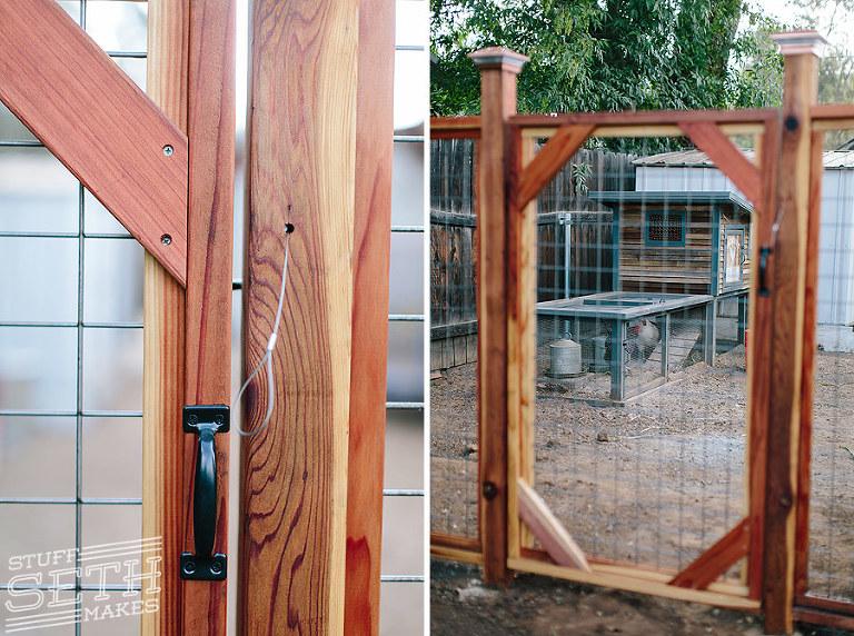 custom-redwood-fence-gate-latch-chicken-coop-enclosure-stuff-seth-makes