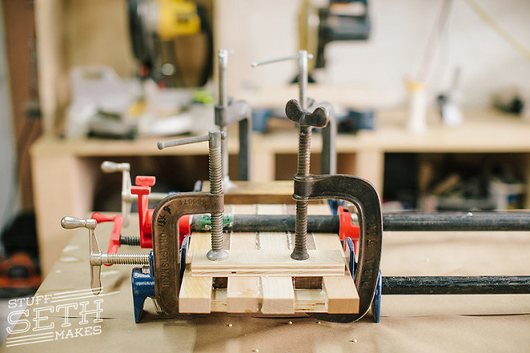 cutting-board-woodworking-clamps