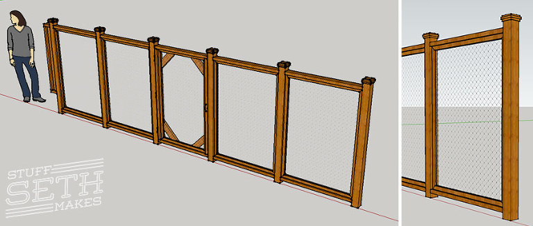 custom-fence-design-google-sketchup-stuff-seth-makes