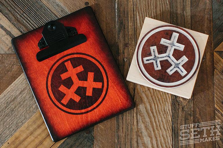rubber-stamp-logo-custom-check-presenter-clipboard-restaurant-accessories-san-diego